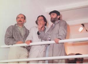 Con Carmelo y Juan en Granada