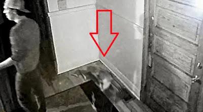 hantu anak kecil tertangkap CCTV