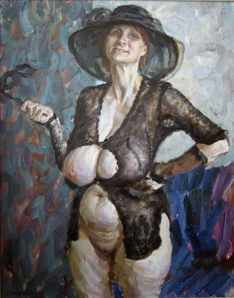 Cuadros con mujeres gordas y maduras, Desnudos de