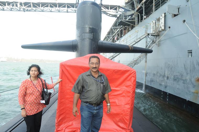 Visit to US Submarine SSN La Jolla