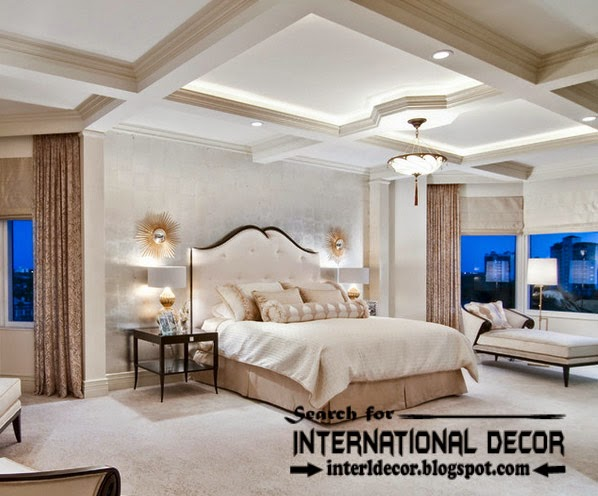 plaster ceiling designs for bedroom ceiling, coffered ceiling lighting