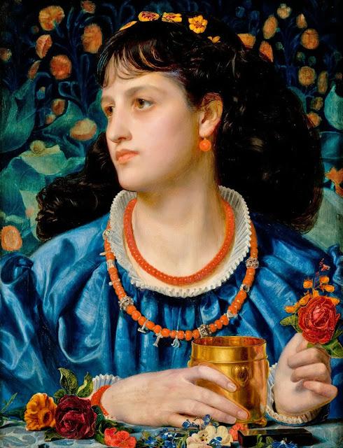Isolda, love potion, victorian painter