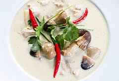 The Real Deal Tom Kha Gai Soup
