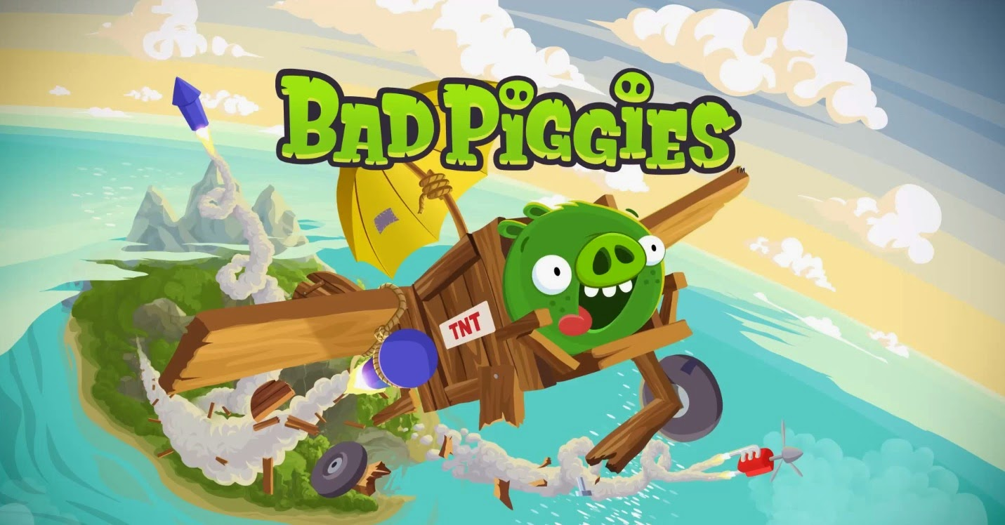 Game Bad Piggies Mencuri Telur Angry Birds - Android Apk Download
