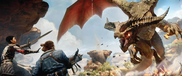 Dragon Age: Inquisition Combat Gameplay Footage