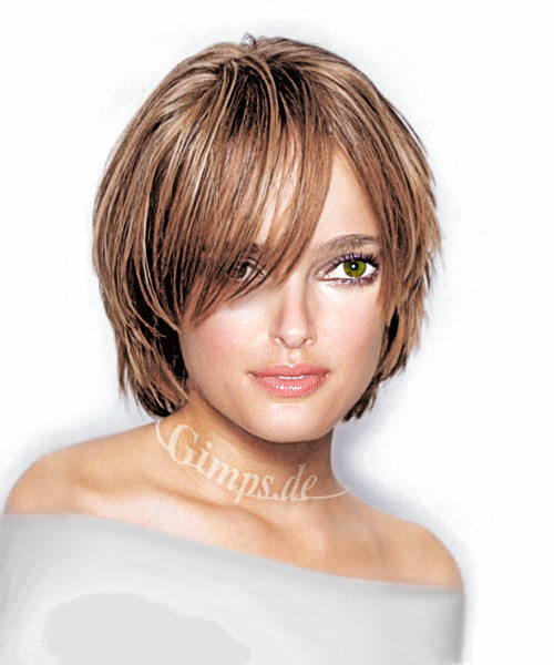The Glamorous Women Short Hair Cute Hairstyles Photograph