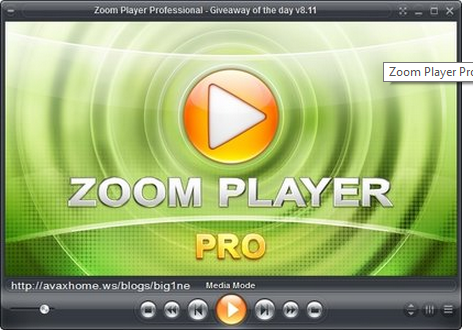 Zoom Player Pro 8.61