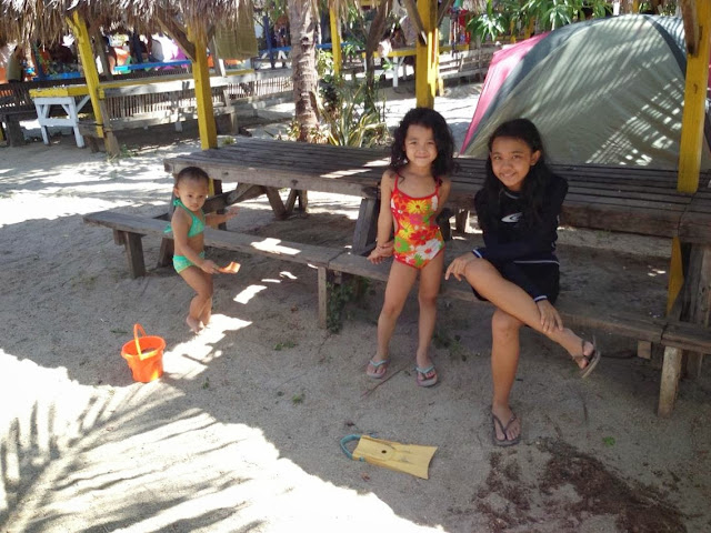 Family Camping at Ocean View beach resort