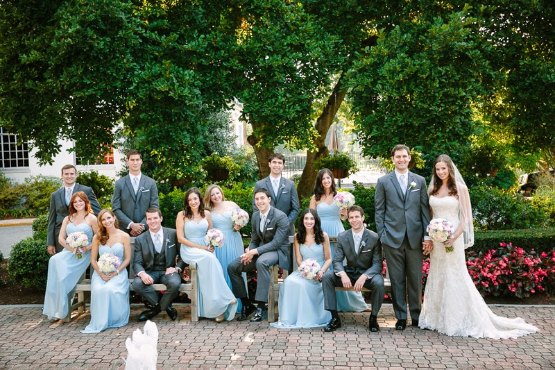 Wedding Color Inspiration: Blue and Green Wedding - Lots of love, Susan