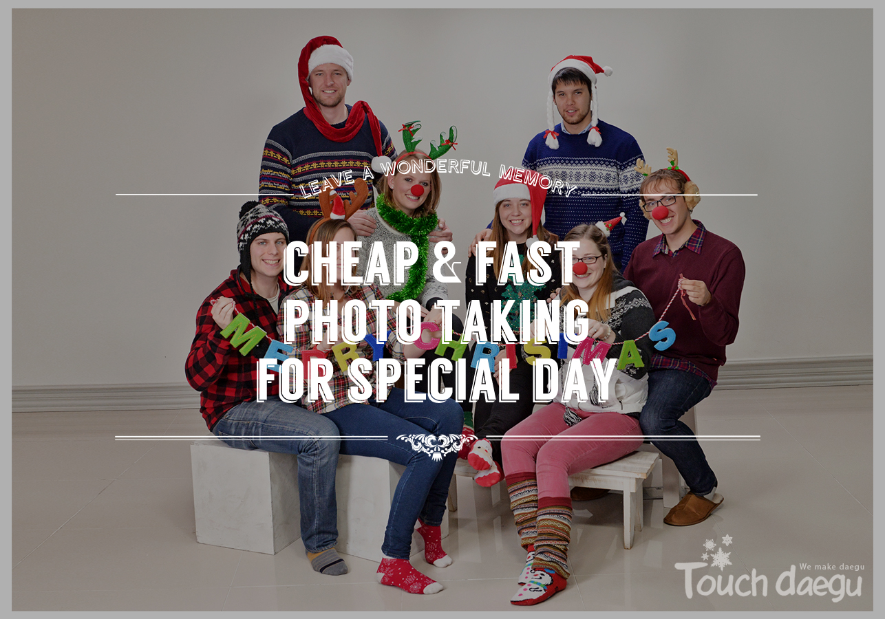 Cheap & Fast Photo Taking for Special Day