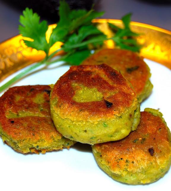 Avocado Shami Kabab