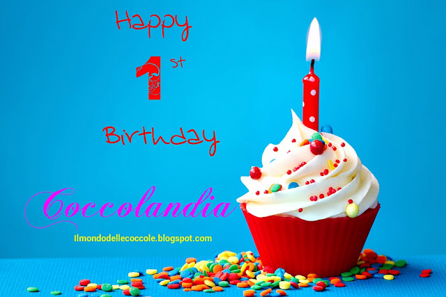 Immagine cupcake Happy Birthday Coccolandia Compliblog