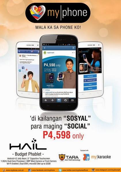 MyPhone Agua Hail