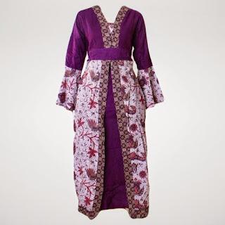 Foto Baju Batik Gamis 2015