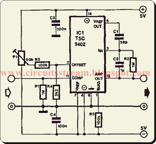 simple f and v converter circuit diagram circuitsan youtube Converter Electronic Circuit Diagrams