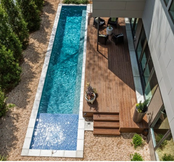 types de piscine moderne