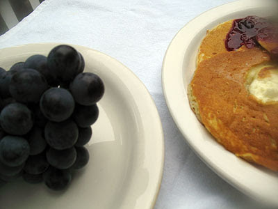 Blue Grape Pancake