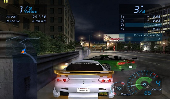 Need for Speed Underground 1 PC Game Download.