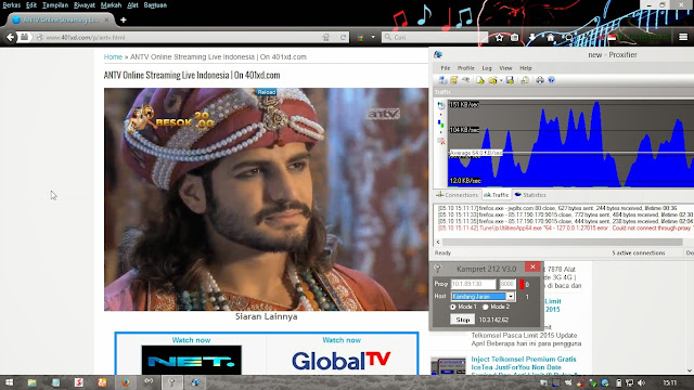 Trik menaikkan qos internet gratis SSH telkomsel 2015