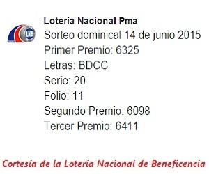 sorteo-dominical-14-de-junio-2015-loteria-nacional-de-panama