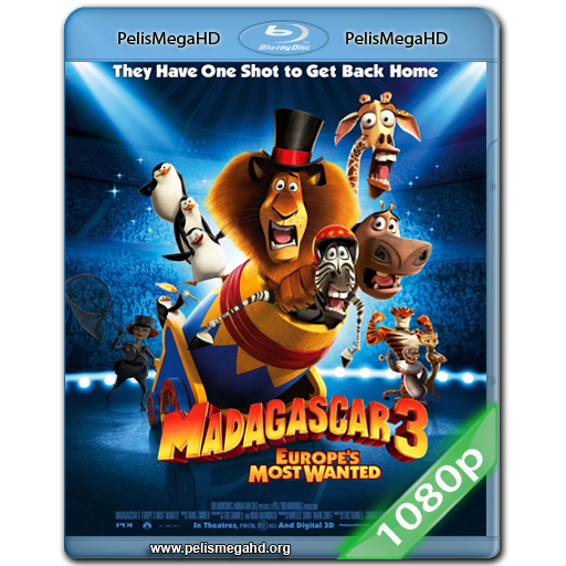 MADAGASCAR 3 (2012) FULL 1080P HD MKV ESPAÑOL LATINO
