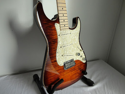 Tom Anderson Drop Top Classic S Burnished Orange Burst
