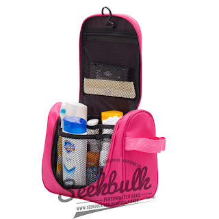 ladies hanging travel toiletry bag