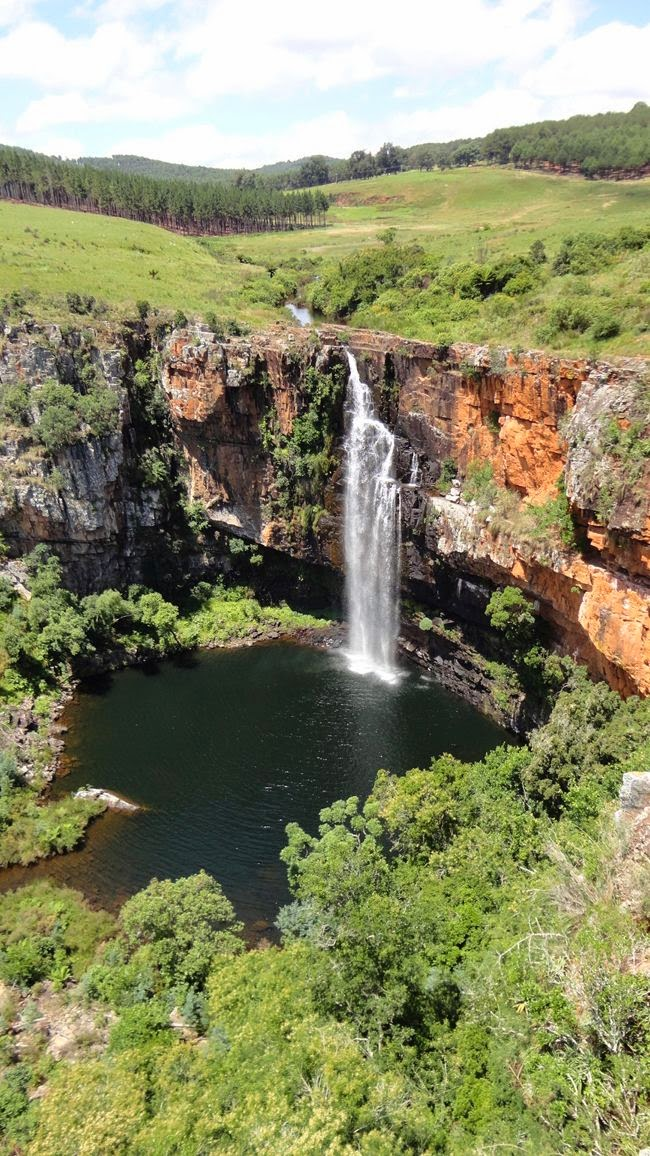 The Berlin Waterfall in Mpumalanga, South Africa
