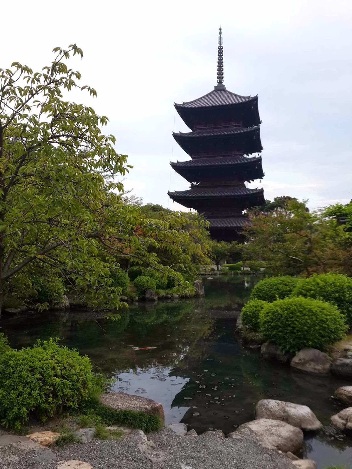 5 story pagoda - highest in Japan