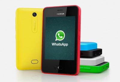 WhatsApp Kini Hadir untuk Nokia Asha 501