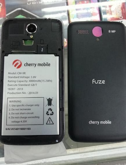 Cherry Mobile Fuze Unit