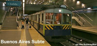 Metro Línea A, Buenos Aires