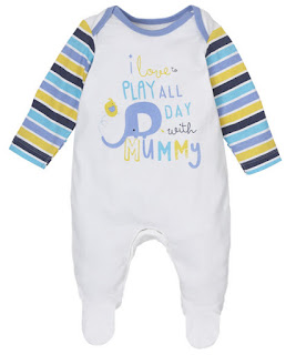 Baju Bayi Footed Onesie/Coverall Mothercare