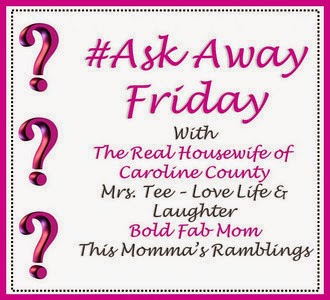 Ask Away Friday Graphic