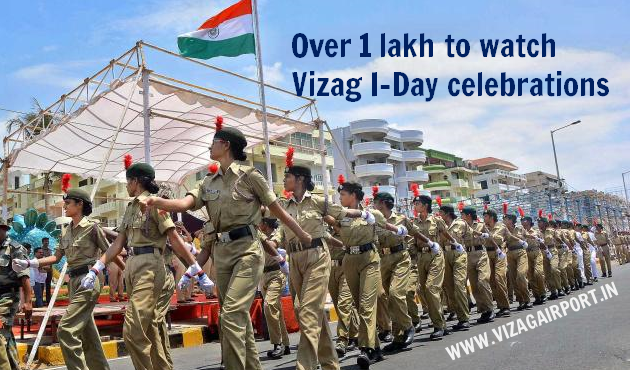 One Lakh People to witness Vizag Independence Day celebrations