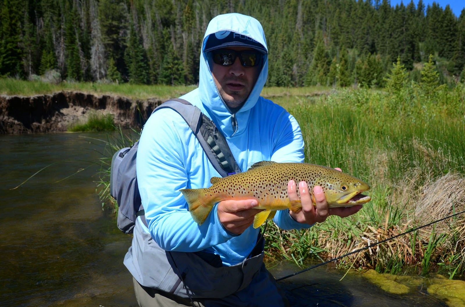 Technical clothing a great option for sun protection for Fly fishing sun shirt