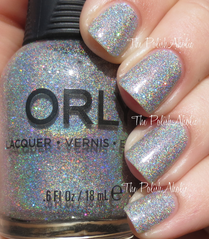 The PolishAholic: Orly Holiday 2014 Sparkle Collection Swatches & Review