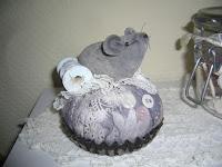 Nadelkissen Maus