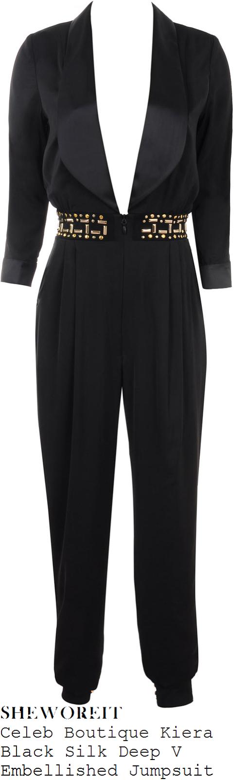 jessica-wright-black-tuxedo-style-embellished-jumpsuit