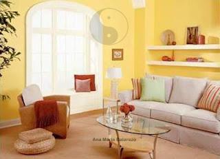 Feng shui ana mar a balarezo los colores y el feng shui - Colores tierra para salones ...