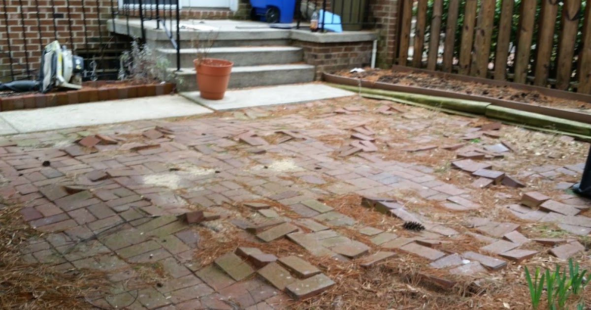 stoneworks design inc brick patio do over in baltimore maryland