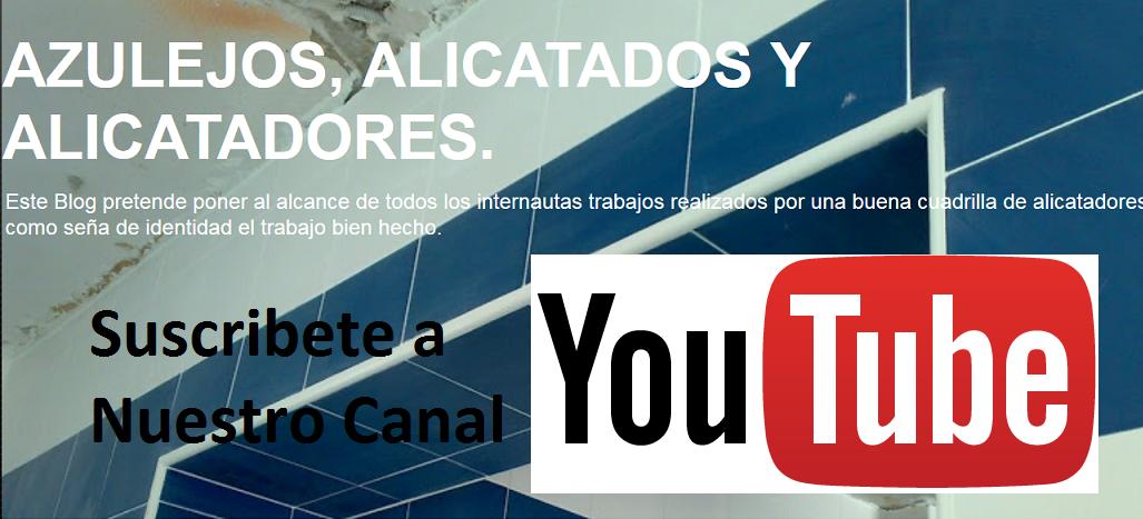 SUSCRIBETE a nuestro Canal YouTube.