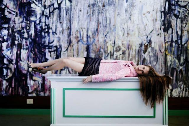 Alla Kostromichova - 10 Magazine, Spring 2015