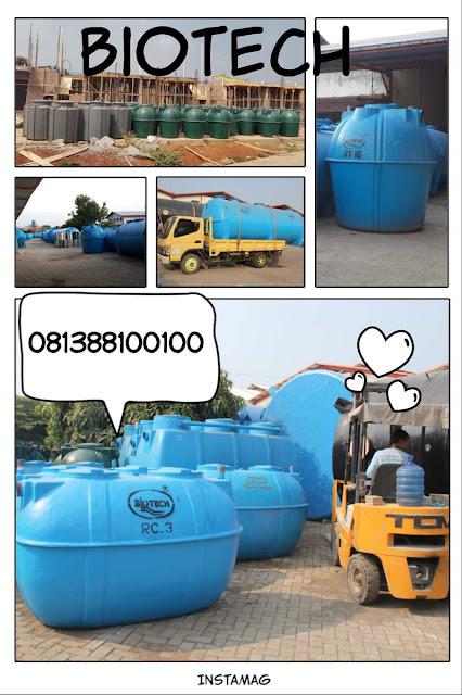 septic tank biotech ramah lingkungan, biogift, biofil, stp, ipal, go green