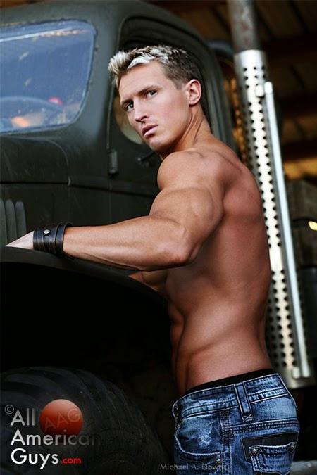 Jeff Grant Male Model