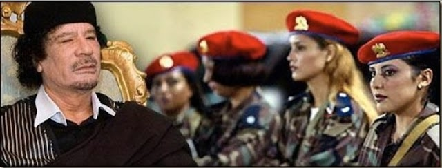 Rey Gadafi usaba el sexo como castigo a sus ministros