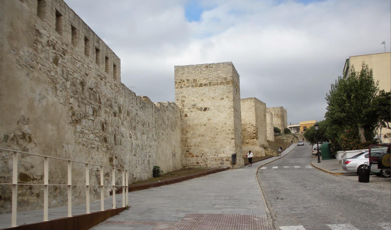 Las murallas de Tarifa, Cádiz