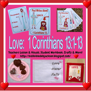 Bible Fun For Kids  Love in 1 Corinthians 13