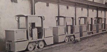 Battery Locos for use in Bedenham