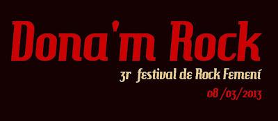 Dona´m Rock festival 2013